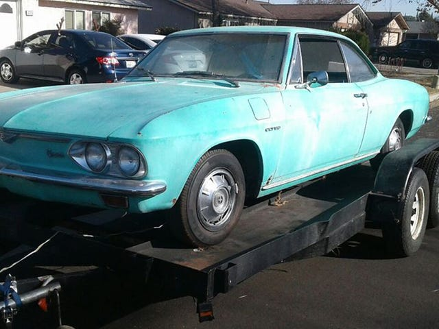 I'm Fixing Up This Chevy Corvair And Making Up Its Racing History As I Go Along