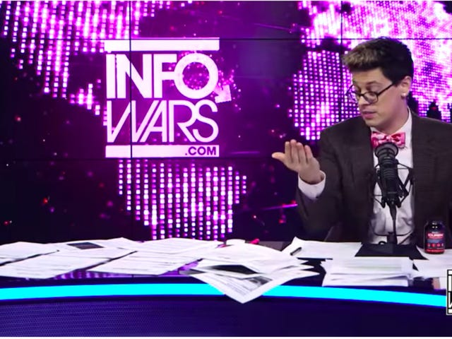 Faded Troll Milo Yiannopoulos Seen on InfoWars Shilling Questionable Supplements, Me Seen Laughing