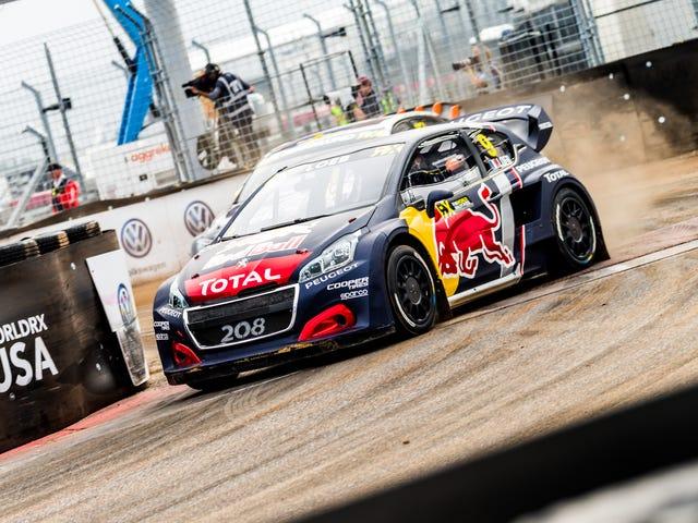 Through Rain and Texas Heat, Rallycross Put On a Hell of a Show in Austin