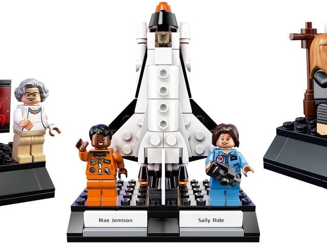 Lego forcé d'exclure des personnages <i>Hidden Figures</i> Héroïne de Cool Women of NASA Set