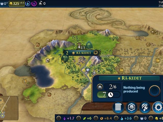 Civilization VI Runs Well On Switch But Is Missing Some Features