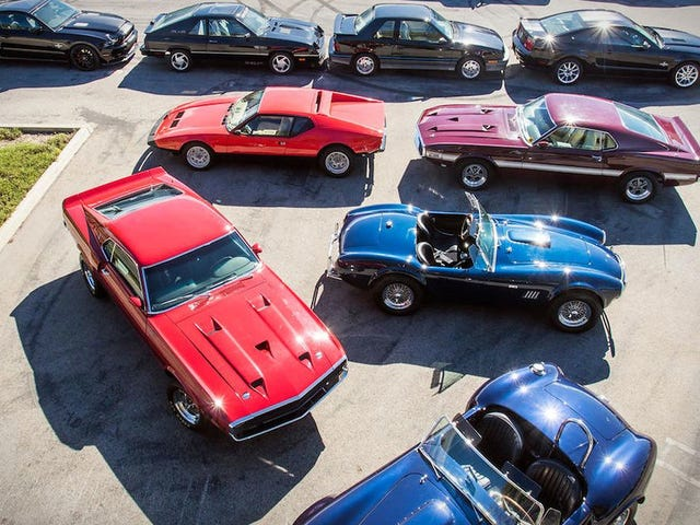 CARROLL SHELBY'S CAR COLLECTION FOR SALE