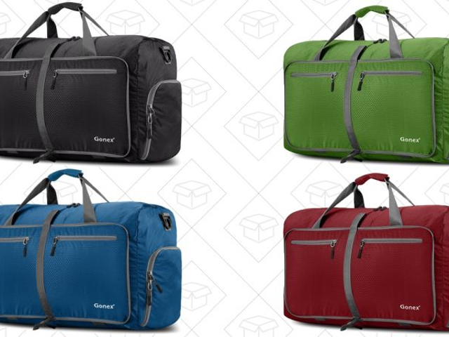 Pack Everything You Need In These Giant Duffel Bags, Starting at $15