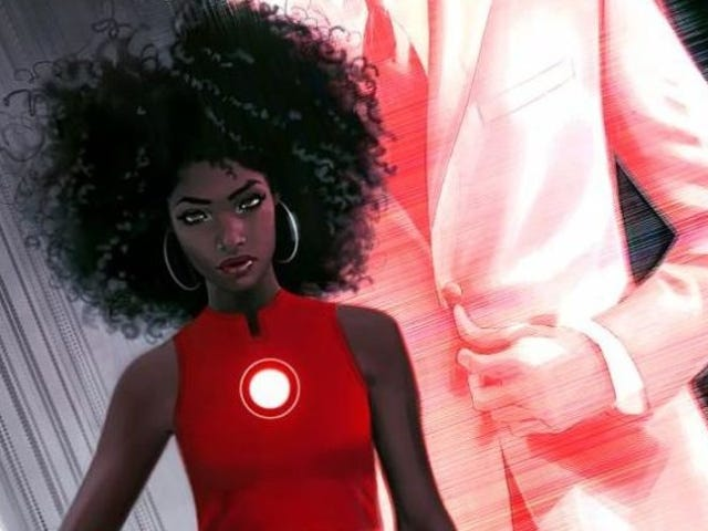Adiós Tony Stark: Iron Man ahora es una joven afroamericana de solo 15 ños