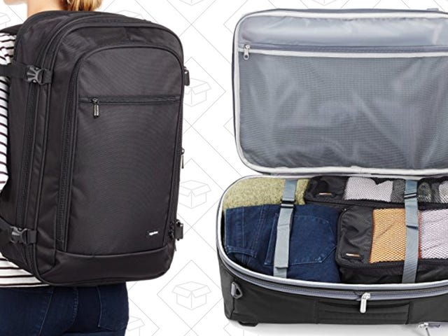 Backpack, Duffel Bag, Suitcase - Carry This $36 AmazonBasics Carry-On However You'd Like