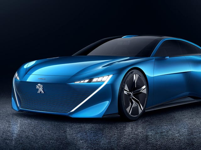 The Gorgeous Peugeot Instinct Concept Is How We Could Transition To Self-Driving Cars