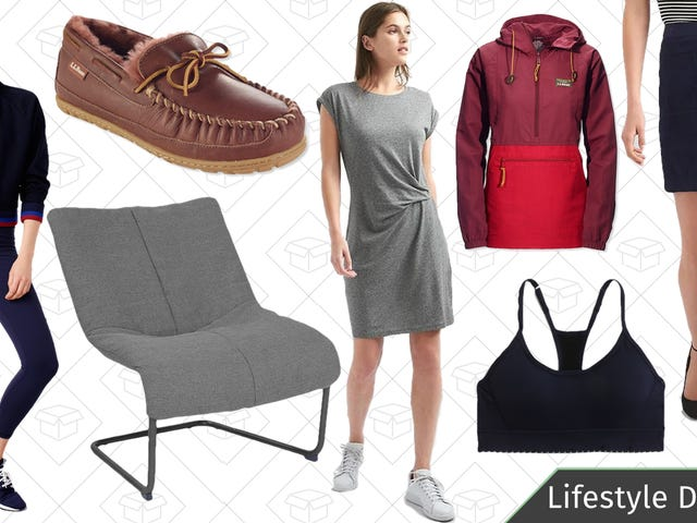 Wednesday's Best Lifestyle Deals: Office Chairs, GAP, L.L.Bean, J.Crew Factory, and More