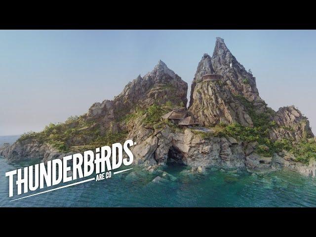 The New Thunderbirds' Tracy Island Is A Miniature, Lifelike Paradise