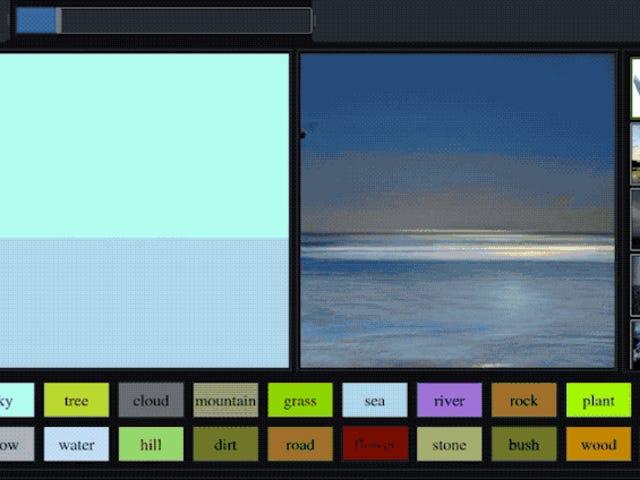 Esta increíble IA creada por Nvidia convierte simples garabatos en paisajes fotorrealistas
