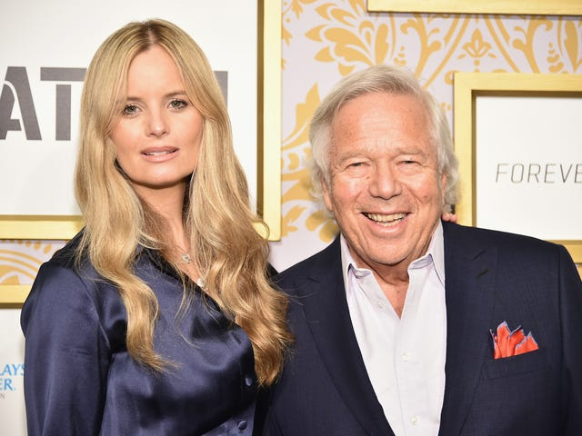 Robert Kraft's Special Pal Had A Baby
