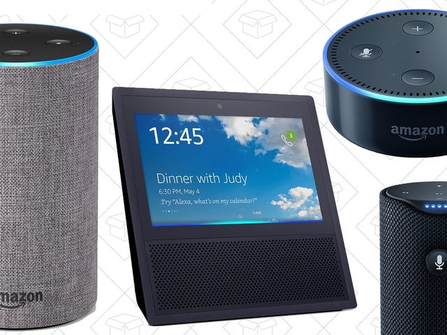 Here Are Your Black Friday Echo Deals, Starting At $30