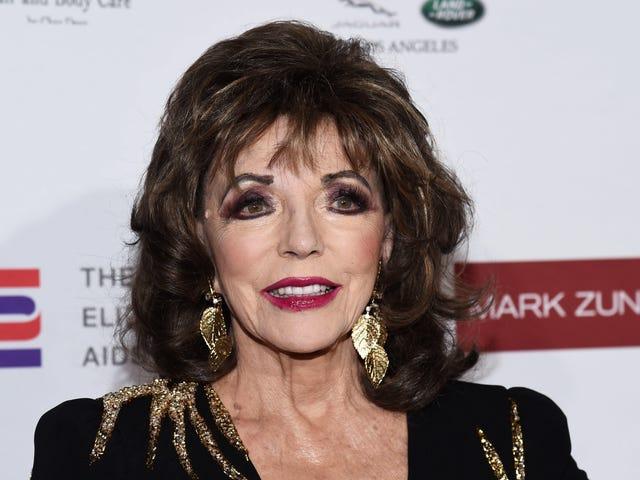 Joan Collins Hates Your 'Tragic' Jeans