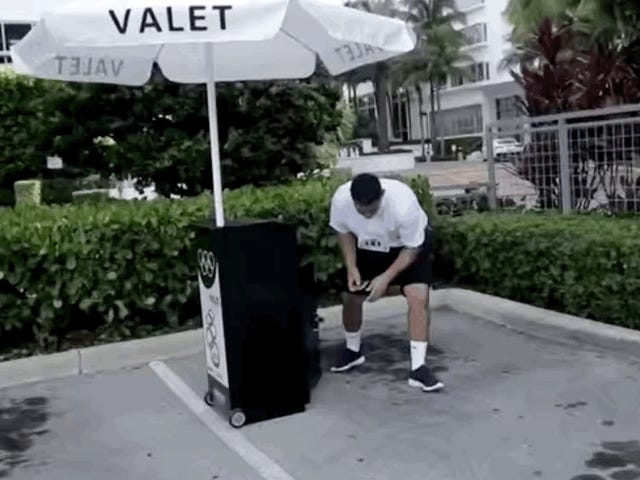 The National Valet Olympics Look Intense