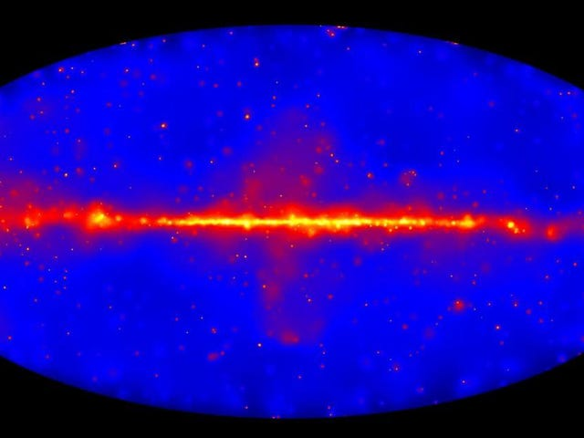 Dark Matter 'Strikes Back' in Galactic Mystery