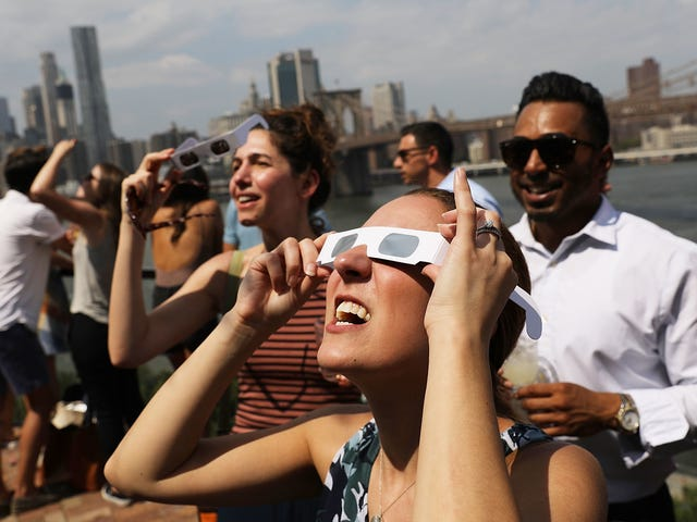 You Can Actually Do Something Good With Those Eclipse Glasses<em></em>
