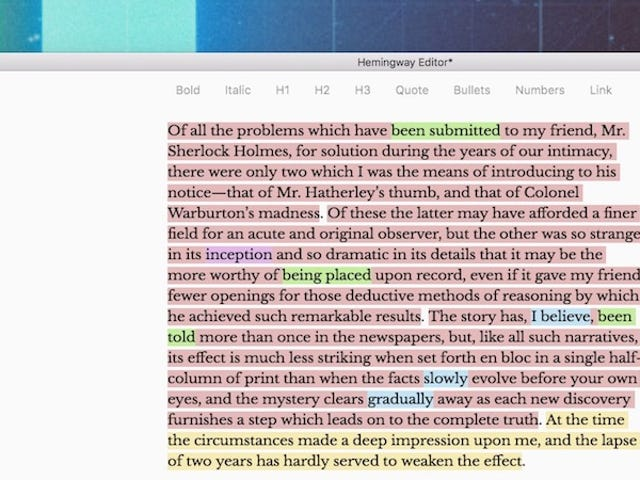 Hemingway, the Writing App That Helps You Edit, Adds Distraction-Free Mode, PDF Export, and More
