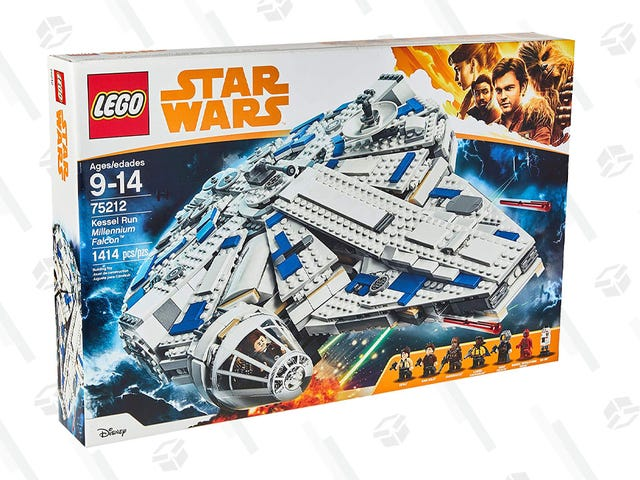 Relive the Kessel Run With This Discounted 1414-Piece Millennium Falcon LEGO Set