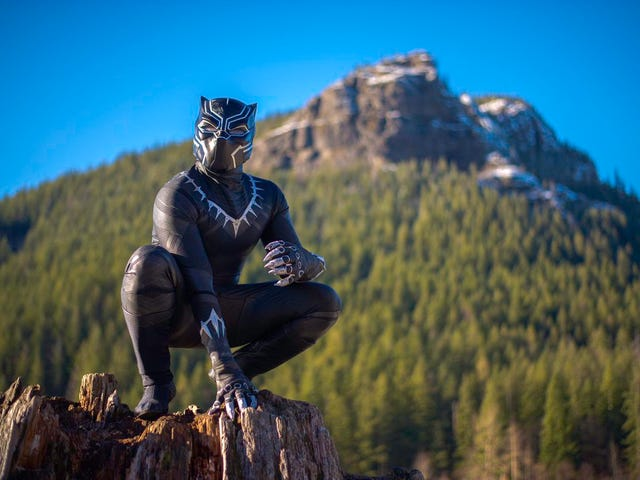 Here's Some A+ Black Panther Cosplay
