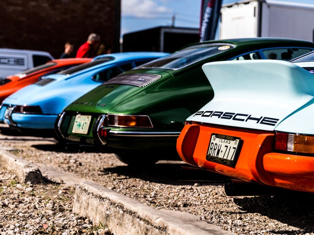 This Texas Event Has An Absurd Name But It Means Air-Cooled Porsche Heaven