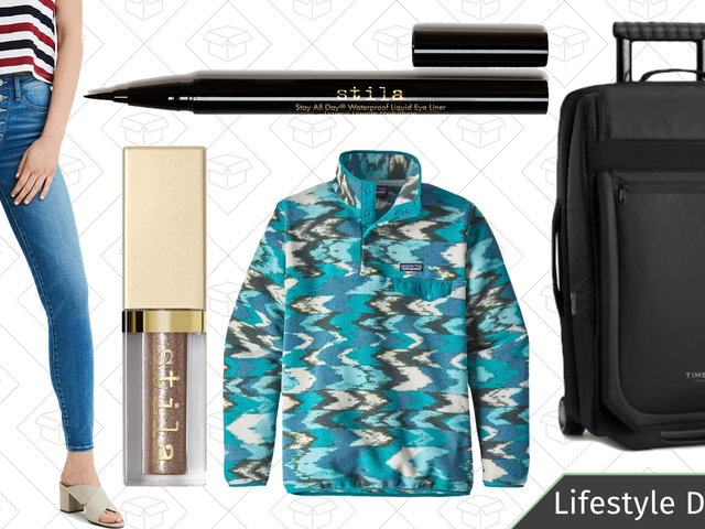 Wednesday's Best Lifestyle Deals: Timbuk2, Patagonia, Stila Cosmetics, and More