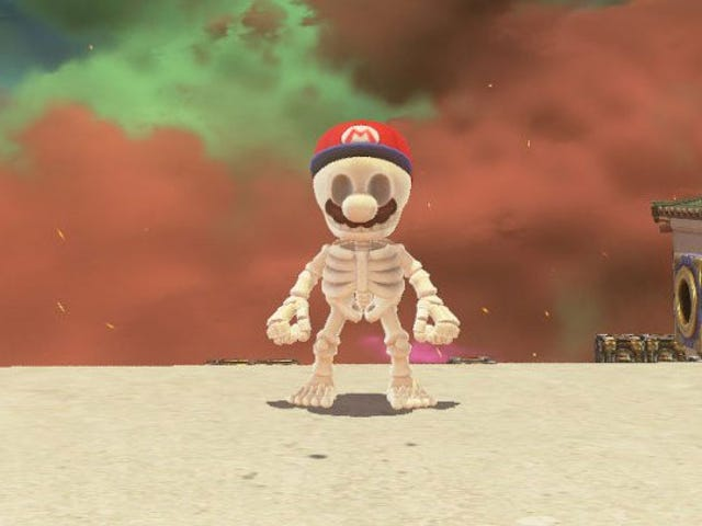 I Farmed 9999 Coins So My Son Could Have The Stupid Skeleton Outfit From Super Mario Odyssey
