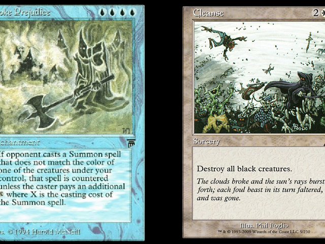 Wizards Of The Coast Bans 7 Racist Magic: The Gathering Cards