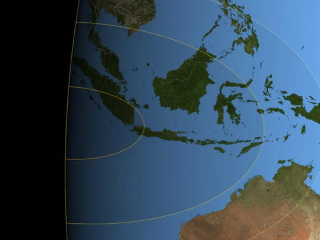 Lleva tu trasero a una isla del Pacífico para el eclipse solar total del próximo mes