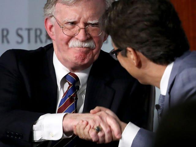 El ex asesor de seguridad nacional John Bolton para completar el Tekashi 6ix9ine, dice que está listo para testificar