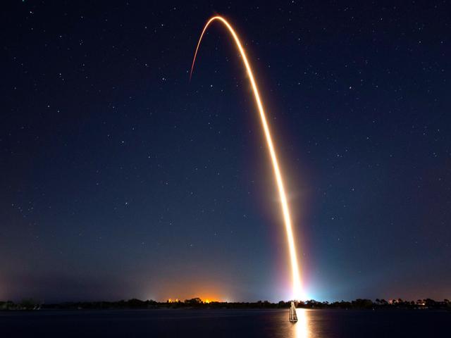 Storica missione israeliana sulla Luna in corso dopo il lancio di SpaceX