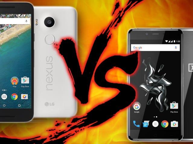 Slim Pocket Showdown: Το Google Nexus 5X εναντίον του OnePlus X