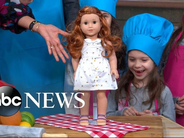 This Year's American Girl Doll of the Year Has a Screen Time Problem Ha Ha Oh God Help