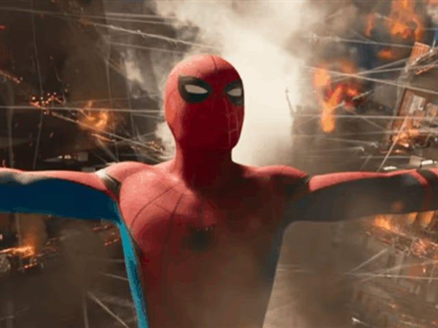 कोई एस्पेरेस ज्यादा आयरन मैन एन <i>Spider Man: Homecoming</i> , टोडस लास एस्केनास हन अपरेसीडो या एन लॉस ट्रेलर्स