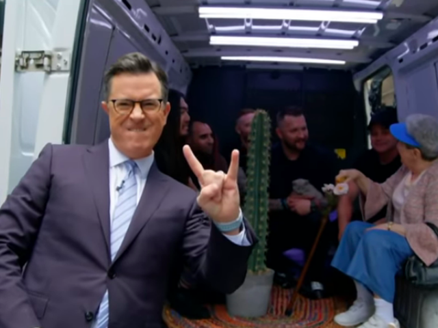Stephen Colbert buys nü-metal band Flaw that van after all, you cheapskates