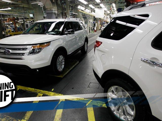 Now 1.33 Million Ford Explorers Are Under Investigation For Carbon Monoxide