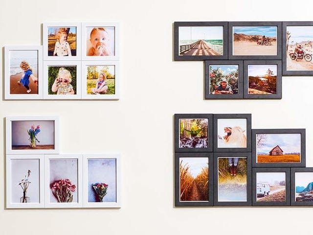 Snap a Gallery Wall Into Place With Magnaframe's Affordable, Magnetic Frame Packs