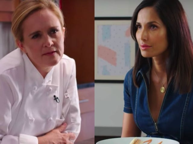 Full Frontal teams up with Padma Lakshmi to raise funds, awareness for immigrant workers