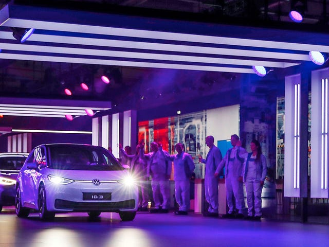 Volkswagen ID.3 Production Ramps Up In Germany