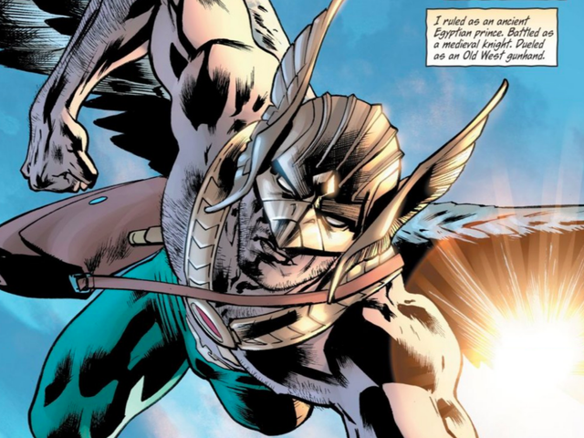 Hawkman's Return Focuses on the Best Parts of DC Comics' High-Flying Hero