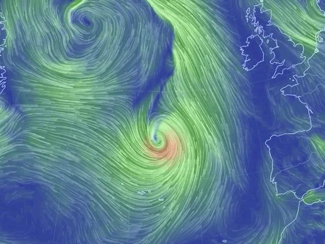 Hurricane Lorenzo Blasts the Azores, Sets Its Sights on Ireland