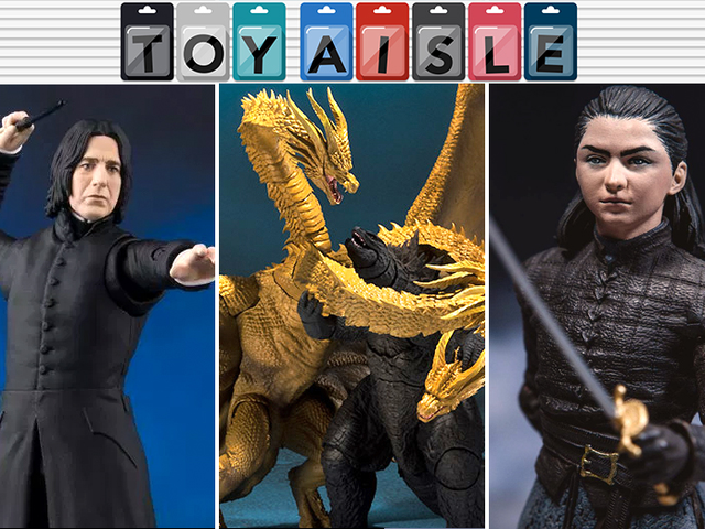 Godzilla: King of the Monsters Plays Out on Your Toyshelf, and More of the Coolest Toys of the Week