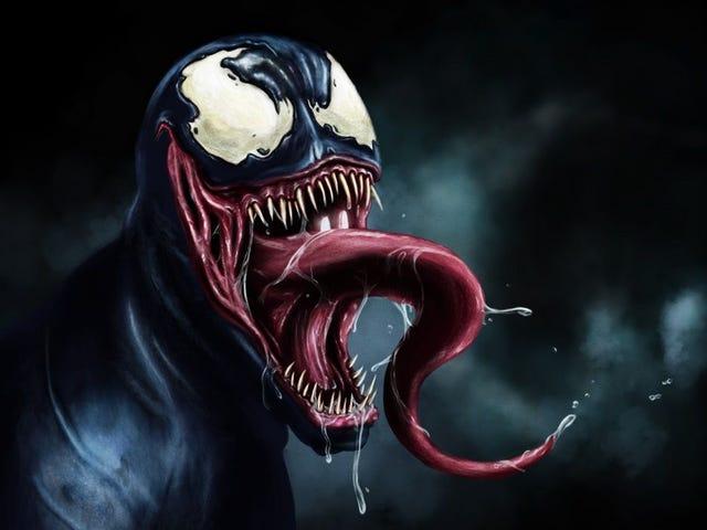 Venom , ο οποίος εκπέμπει τον Spider-Man , προσφέρεται για την προπόνηση του παιδιού