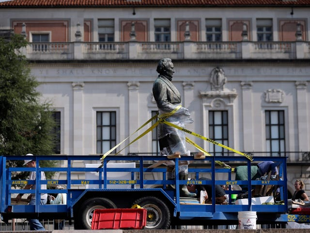 U of Texas Removing 4 Confederate Statues From Campus