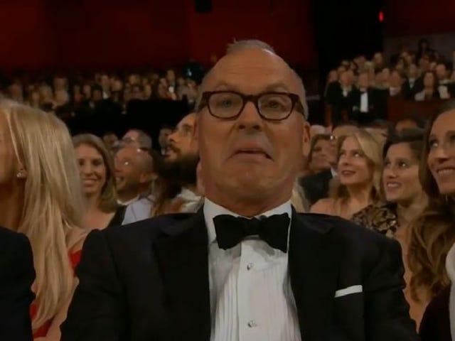 Titta på Oscar-nominerade skådespelare reagera på sina egna Oscar-nominerade föreställningar