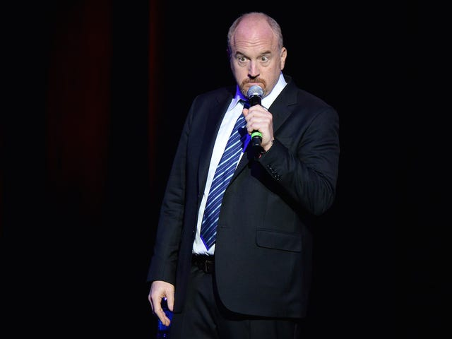 On Press Tour for His Movie, Louis C.K. Still Won't Discuss Rumors About Masturbating In Front of Women Comics