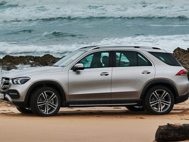 The 2020 Mercedes-Benz GLE-Class Finally Gets A Third Row Seat