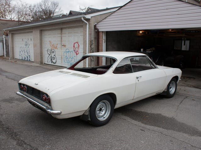 Someone is coming on Saturday, cash in hand, to buy the Corvair