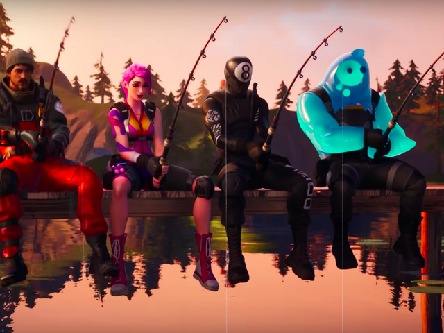 You Can Use Fortnite's Fishing Pole On Land Now, Apparently