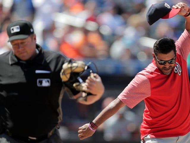 Derrota de Davey Martinez o salvou de assistir a mais um desastre nacional de bullpen