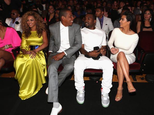 Blue Ivy näyttää yhdistäneen Kim, Kanye, Beyoncé ja Jay Z
