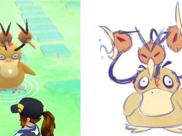 Siete monstruos aberrantes que nacieron de Pokémon Go